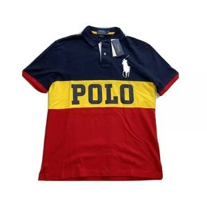 Polo Ralph Lauren Big Pony Spell Out Polo Shirt